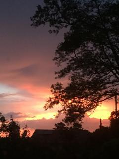 Sunset in Hilterfingen
