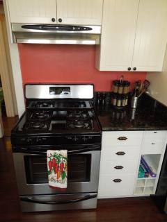 Stainless Steel Firgidaire Self-Cleaning Oven with Gas Stove Top