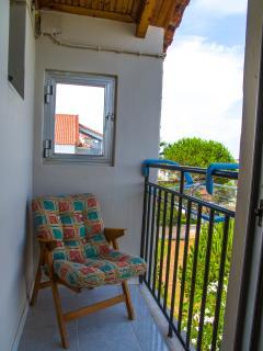 Bedroom veranda