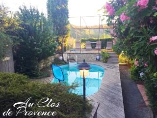 Au Clos de Provence Gites de charme Les Tilleuls, Saint-Marcellin-les-Vaison