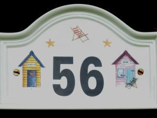 Chalet 56 Sign