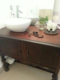 pampering bathroom