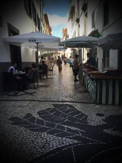 Our street, small street Queimada de Cima is on the list of the most important pedestrian routes