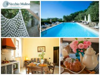 Charming Apt  private terrace wifi free, Pool Parking in the heart of Tuscany