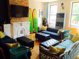 6BR Brooklyn Brownstone w/ Private Decks & Roof!