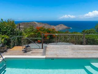 Brand New Contemporary Villa in Vitet, beautiful ocean views over Toiny!, St. Barthelemy