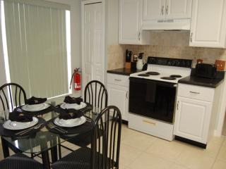 Fully equipped kitchen with everything you will need during your stay.