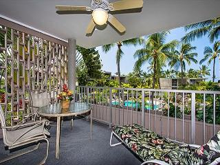 Alii Villas 221 Gorgeous 2nd flr condo with Ocean View, Wifi, & Close to Pool
