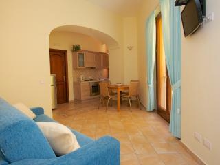 Appartamento con una camera da letto e terrazza