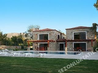 Yalikavak Bodrum a private swimmingpool farm villa