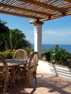 Ocean view rooftop terrace