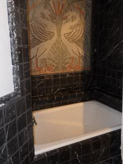 Roman soaking tub