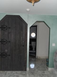 entering from front door
