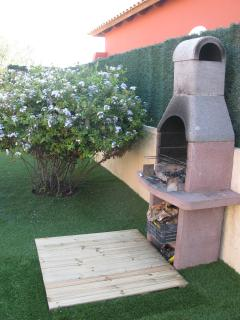 Garden. BBQ