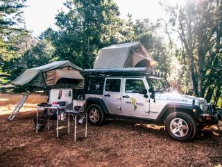 Jeep Wrangler 4x4 Camper - Nomad America Roadtrip