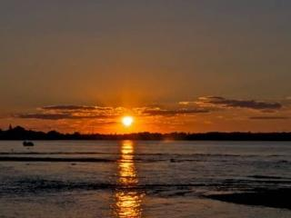 The Perfect Sunset in Sag Harbor
