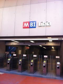 Fermata Libia Metro B1