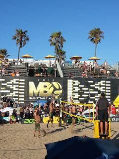 2015 Manhattan Beach open - AVP Volleyball tournament