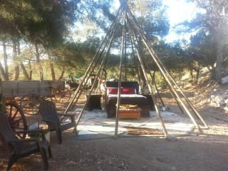 We also have a tipi available march through oct