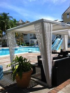 Relax in a Cabana on Pool Deck