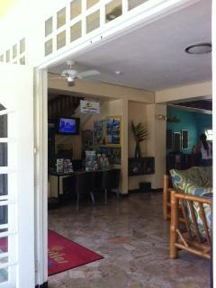 Lobby Entrance and welcome area