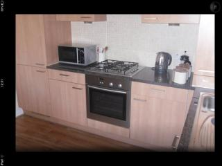 Kitchen Area - integrated appliances fridge freezer, hob and oven, dishwasher and washing machine