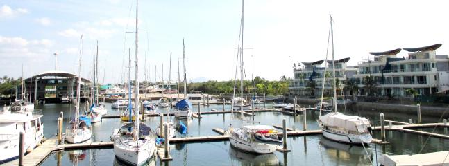 Condo with marina view