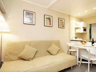 Romantic sunny studio in Montmartre, Paris
