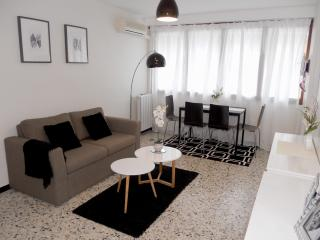 Cannes apartment 2 bdr A/C WIFI shops downstairs