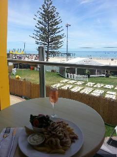 View from the balcony at the Glenelg Surf Club