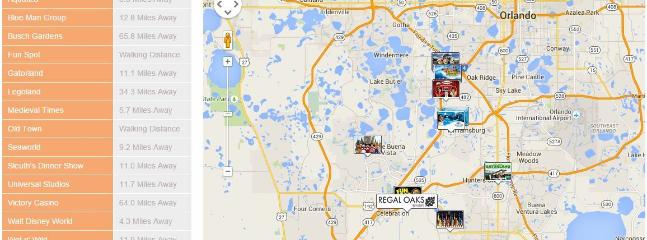 Check out all of the attractions that are available close by.
