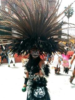 Day of the Dead...Costume and Dance...Special Celebration in Mexico