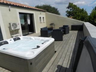 APPARTEMENT AVEC SPA SUR TERRASSE PRIVATIVE, Murviel-les-Beziers