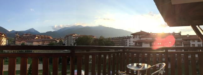 Summer on the Balcony Bansko Royal Towers Apartment 747