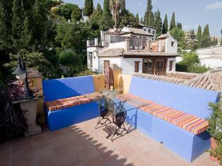 Terraza, vista de Los Carmenes del Albaicin