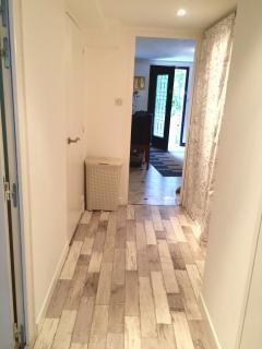 Groundfloor. Entrance and corridor with a walk in closet, corridor for Bedrooms 3 & 4.