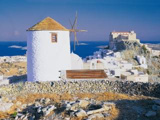 Anemomylos - Windmill (Ano Syros), Ano Siros