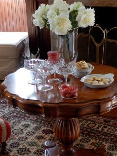 une coupe de champagne ou un apéritif festif?