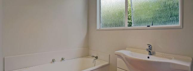 Bathroom with Bath & Separate Shower & Laundry