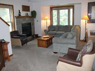 4 Bedroom 2 Level Duplex Sleeps 12!  2 Car Garage and Near Rec. Center