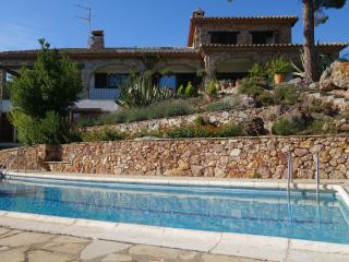 Stunning hilltop villa, with panoramic sea views, Palamos