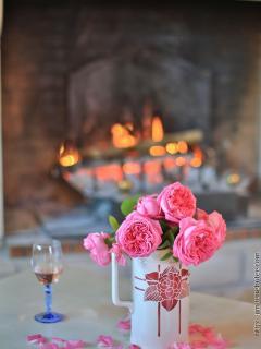 Pause au coin du feu