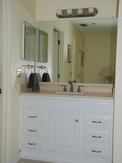 Vanity Unit in Master Bathroom