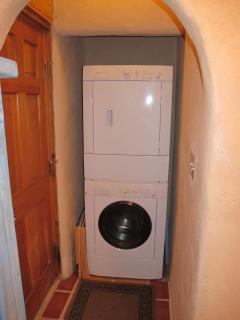 A full size washer and dryer is available for your use.