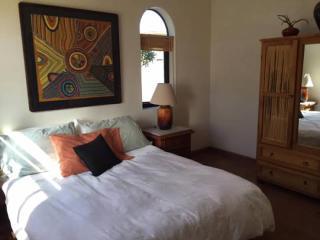 Casita bedroom - queen size bed