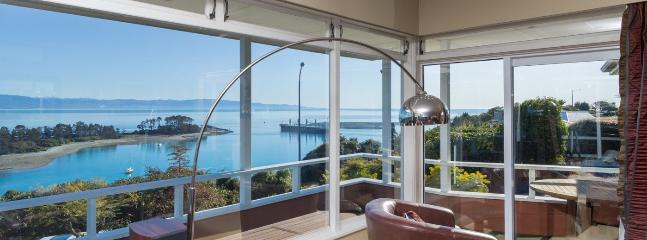 Seaside Manor Nelson Holiday Home with Exceptional Sea Views!
