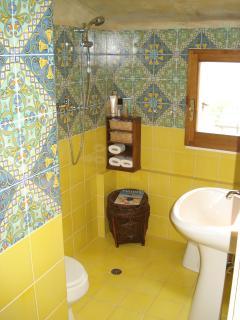 Il bagno al secondo piano