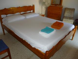 Extra- Large Double Bed.