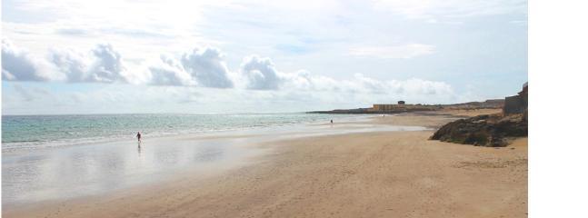 Playa Blanca a 9 km del Apartamento
