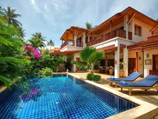 Baan Buaa, Beach side Villa, Samui Beach Village, Lamai Beach